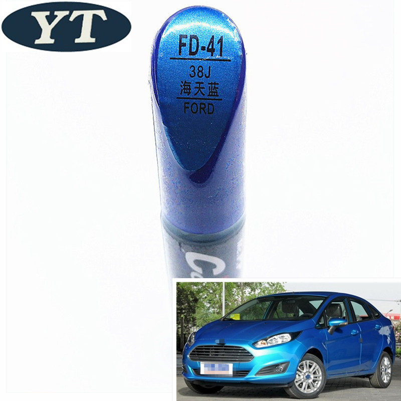 Car Scratch Repair Pen, Auto Paint Pen BLUE Color For Ford Ecosport,kuga, Focus,s-max,fiesta ,car Painting Pen