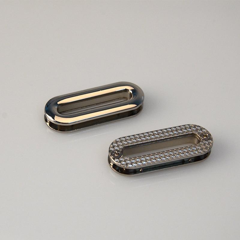 1.25 Inch ( 3.2cm Inner Size) Nickel Zinc Alloy Oval Eyelet Grommets