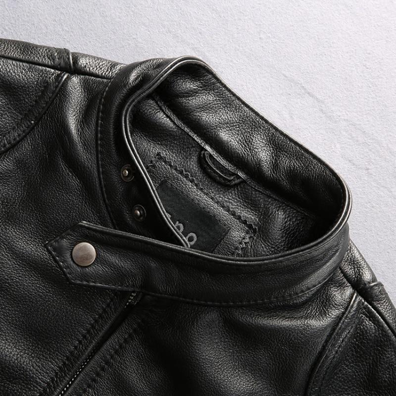 varm försäljning ko läderkläder man över storlek äkta kohid - Herrkläder - Foto 6