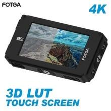 "Fotga DP500IIIS A50T A50TL A50TLS 5 ""FHD וידאו מגע מסך שדה מצלמה צג, 3D LUT, 3G SDI 4K עבור A7S השני GH5"