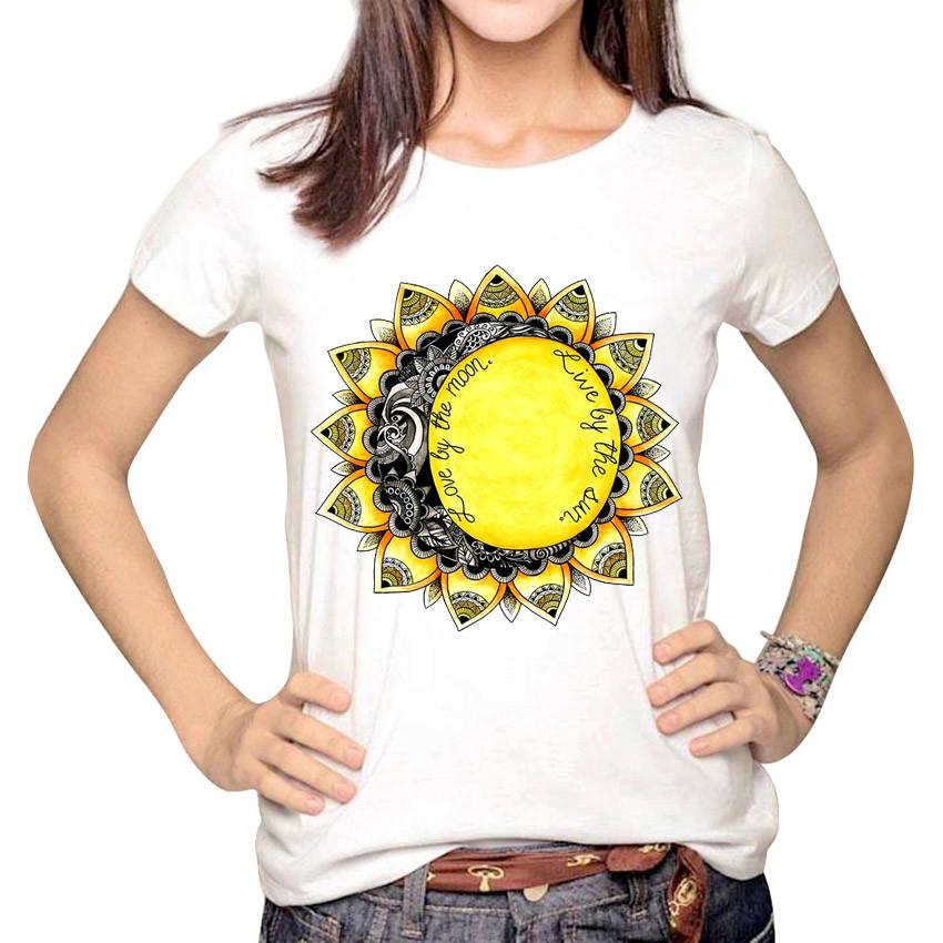 HTB1Pw5mMVXXXXb5XXXXq6xXFXXXO - Women Fashion Hipster Sun and Moon Cartoon Printed Tops