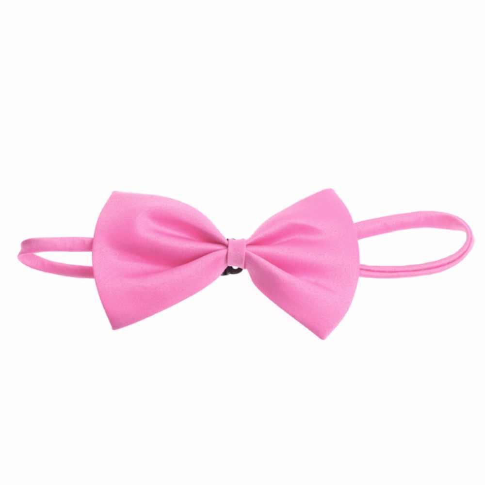 KLV الكثير الأطفال الفتيات الفتيان الصغار بووتي قبل تعادل بابيون الزفاف عادي ربطة العنق 2018 جديد