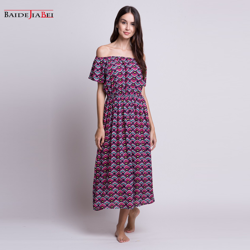 Compare Prices on Long Sleeve Cotton Maxi Dress- Online Shopping ...