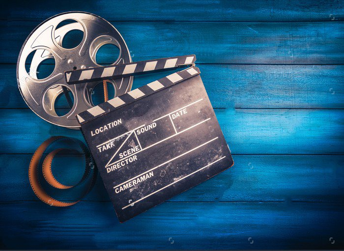 Hollywood Movie Film  Wood photo backdrop Vinyl cloth High quality Computer printed party Photography Backgrounds