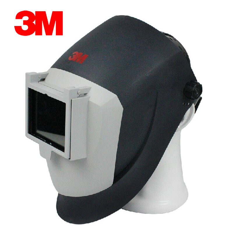 3M PS100 Argon Welding Mask Anti Fire Anti-splashing/Welding Arc/Cutting Sparks/Metal Droplets Silver Black Type GM0829 коврик в багажник hyundai solaris hb