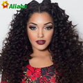 Rosa Peruvian Deep Wave With Closure 4 Bundles 7a Grade Peruvian Curly Hair With Closure Lace Closure With Bundles Deep Curly
