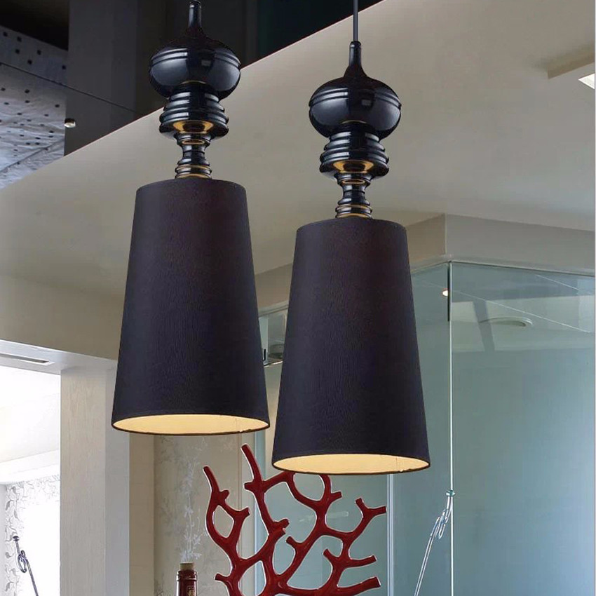 ФОТО New moderm Single Head LED Pendant Lamps Dining Room hanging Lights White /Black /Gold /Silver
