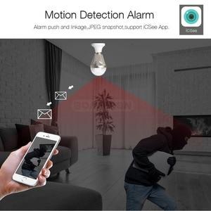 Image 5 - 960P 1080P 3MP 5MP אלחוטי פנורמי IP 3D VR מצלמה WIFI הנורה אור FishEye 180/360 תואר טלוויזיה במעגל סגור אבטחת בית מיני מצלמת Wi Fi