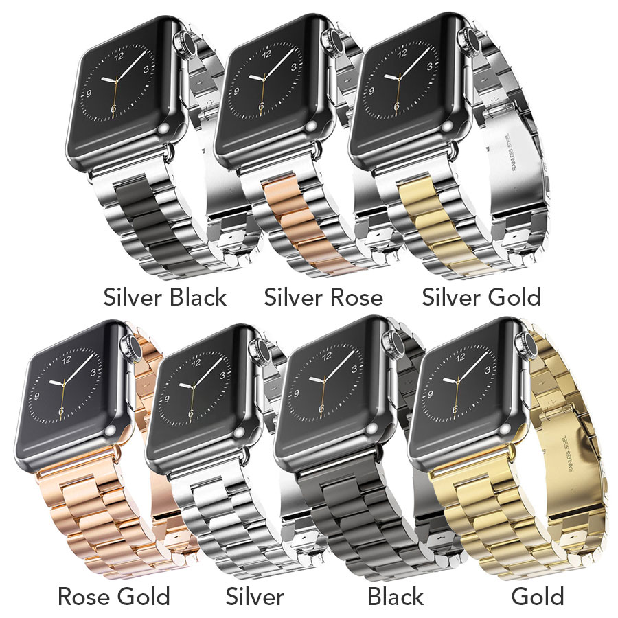 Stainless Steel Watch Band For Apple Watch Serie 4 40mm Metal Sport Straps For Apple Watch 44mm 38mm BraceletStainless Steel Watch Band For Apple Watch Serie 4 40mm Metal Sport Straps For Apple Watch 44mm 38mm Bracelet