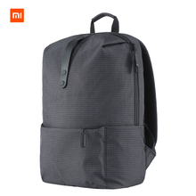 Original XiaomI Mi Backpack College Casual Shoulders Bag Female Leisure Rucksack Daypack School Bag Duffel Bag 15.6 Inch Laptop