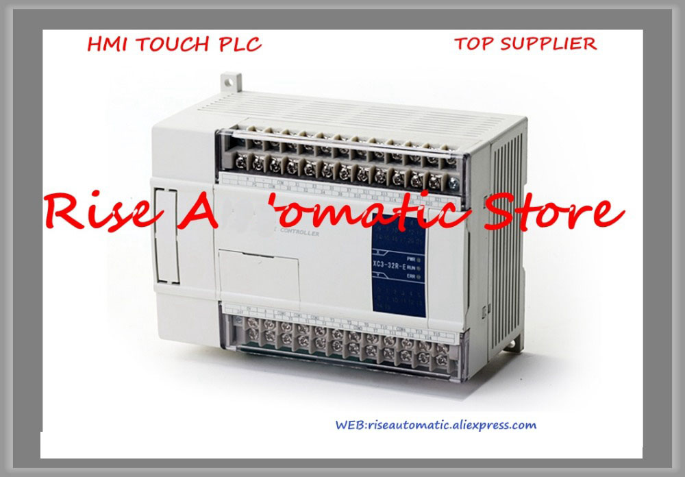 New Original Programmable Controller Module XC3-24T-C PLC CPU DC24V 14 DI NPN 10 DO TransistorsNew Original Programmable Controller Module XC3-24T-C PLC CPU DC24V 14 DI NPN 10 DO Transistors