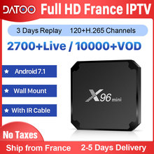 X96 MINI French IPTV France Arabic Italy Spain Android 7.1 1G+8G/2G+16G Italian Turkey Box