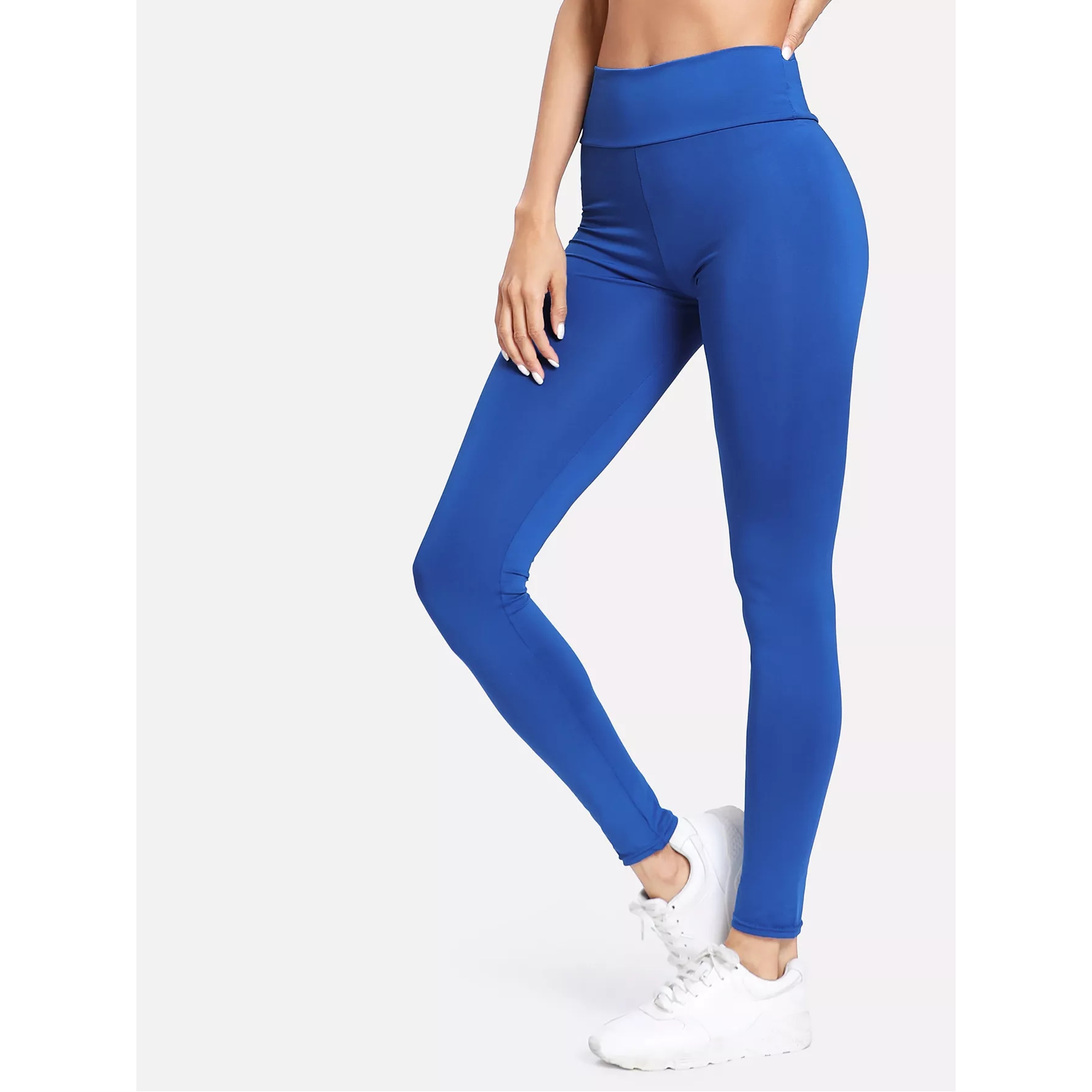 Women's Solid Slim Leggings Trousers Thin Women Leggins Elbows For Fitness Legins Push Up Workout Jeggings Tayt Sportleggings
