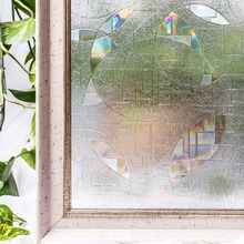 CottonColors PVC Waterproof Window Films Cover No-Glue 3D Static Decorative Window Privacy Glass Stickers  Size 60 x 200cm