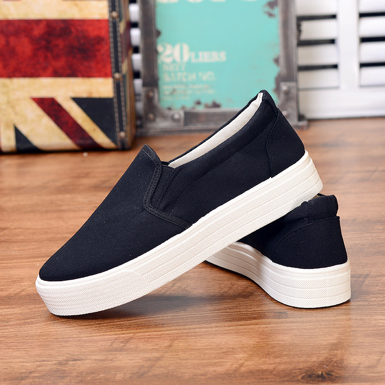 Walking shoes Small white shoes casual white canvas shoes spring walking shoes A7U1 A7U13