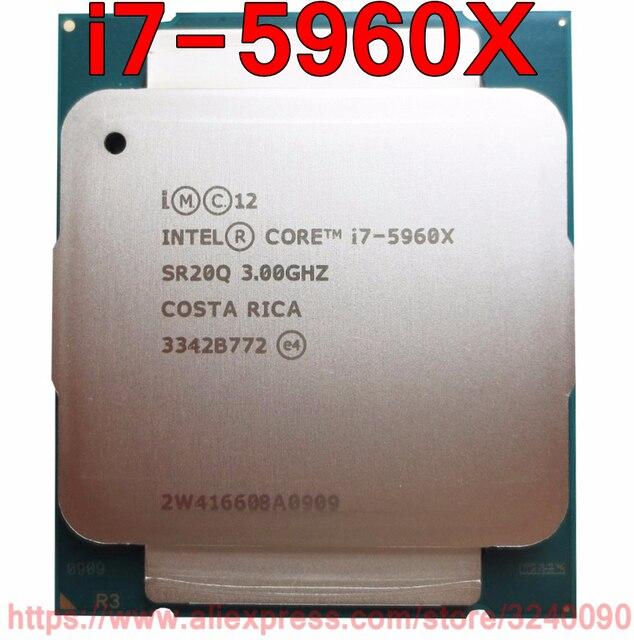 Original intel cpu core i7 extreme edition processor i7 5960x 3. 00.