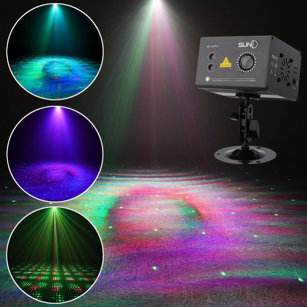 SUNY RG Aurora Effect Laser Light Gobo Projector w/ LED RGB Ripple Color Stage Light for Disco DJ Home Party Xmas Decor(WA100RG)SUNY RG Aurora Effect Laser Light Gobo Projector w/ LED RGB Ripple Color Stage Light for Disco DJ Home Party Xmas Decor(WA100RG)
