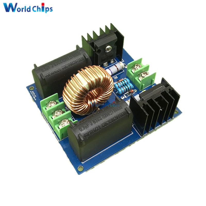10A 200 W ZVS Driver Board for Tesla Coil Power Supply Boost High Voltage Generator Driver Board Induction Heating Module System image