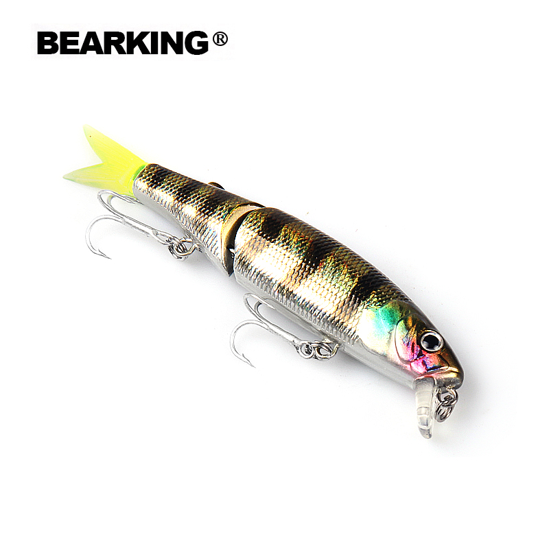 Retail 2016 good fishing lures minnow,quality professional baits 8.8cm/7.2g..