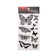 Butterfly Art Graphic Waterproof Temporary Tattoo Sticker Unisex Body Art Sticker Beautiful Animal Pattern Tattoo Sticker animal футболка animal graphic p05 12