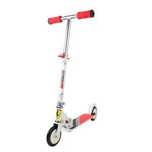 Image 3 - 120 MM מתקפל גובה מתכוונן רגל קטנוע שני סיבובים גלגלים חיצוני כפול דעיכת לדחוף ילדי קורקינט סיטונאי