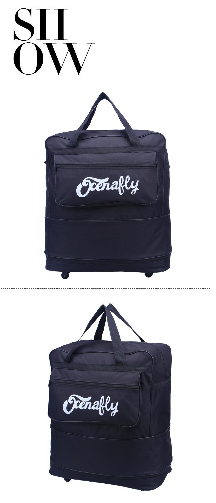 Travel Bag Rolling Weekend Luggage