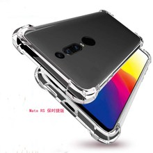 For Huawei Mate RS Case Cover 6.0 Soft Transparent TPU Shockproof 20 P30 Lite