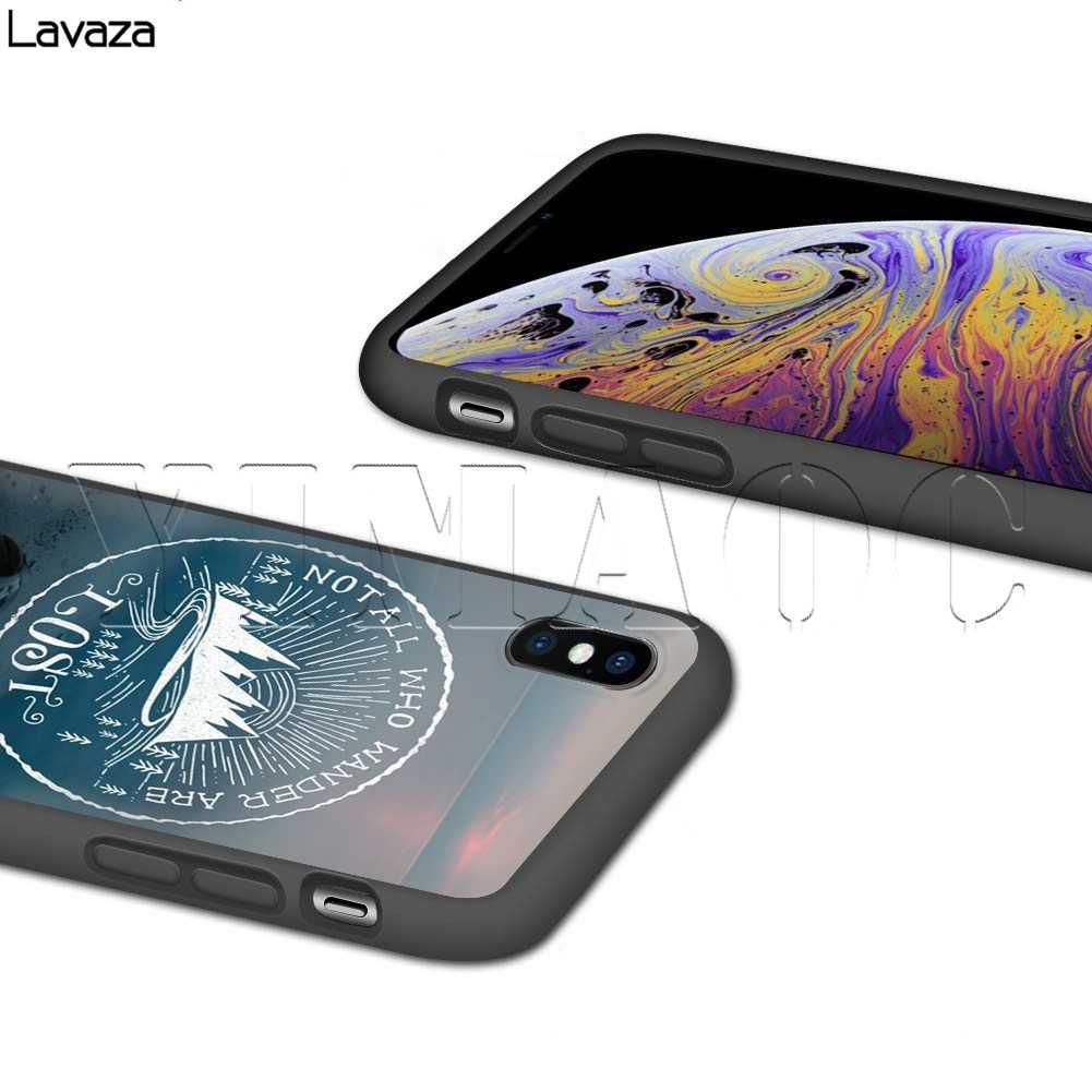Lavaza ないすべての人さまようはロストケース iphone 11 プロ XS 最大 XR × 8 7 6 6S プラス 5 5s 、 se