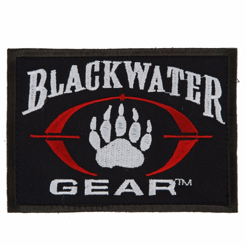 TACTICAL PAINTBALL BLACK WATER BEAR'S-PAW PATCH