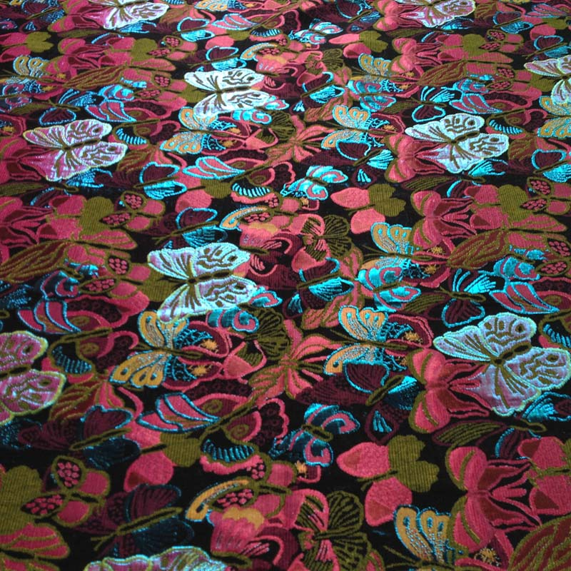 f51dcddb5f Butterfly Jacquard Brocade Fabric
