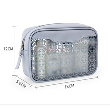 Makeup Simple Cosmetic Bag Travel Boarding Wash Bags Transparent Waterproof Storage Finishing Package Small Fresh Toiletry u pick fashion fresh transparent water repellent cosmetic bags