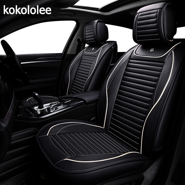 Kokololee Pu Car Seat Cover For Ford Focus 2 3 2009 2010 2017 2016 2018 Accessories Styling