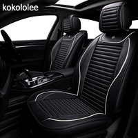 KOKOLOLEE pu car seat cover for ford focus 2 3 /2009/2010/2011/2012/2013/2014/2015/2016/2017/2018 car accessories car styling