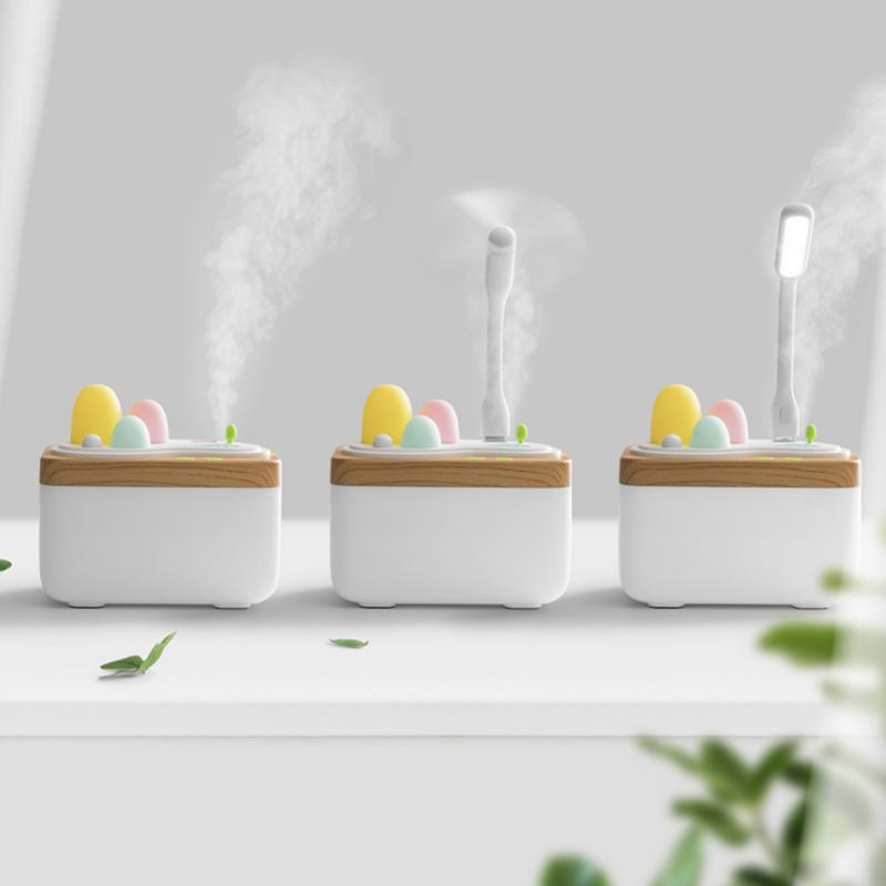 Remote Control Air Humidifier 450ML Aroma Humidifier Electric Aromatherapy Essential Oil Aroma Diffuser With USB Charging diffuserlove usb air humidifier 450ml ball humidifier with aroma lamp essential oil ultrasonic electric aroma diffuser fogger