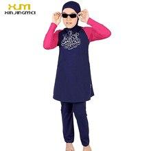 Full Cover Muslim swimwear for Little Girl  Arab Garment Swimsuits For children Islamic Clothing Indonesia