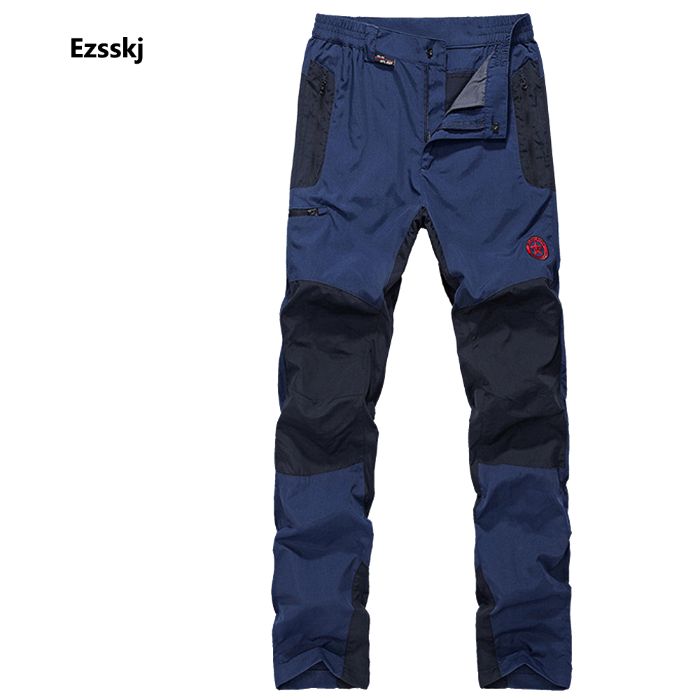 ФОТО 2017 Climbing Camping Hiking Uniform Trousers Men Outdoor Trip Long Pants Trekking Snowboard Overalls Large XL 2XL 3XL 4XL