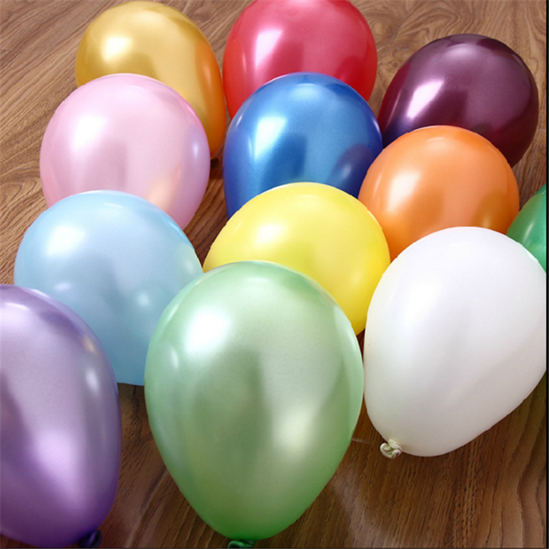 10pcs10 inch blue inflatable latex balloon air balls wedding party decoration birthday party balloons float toys children