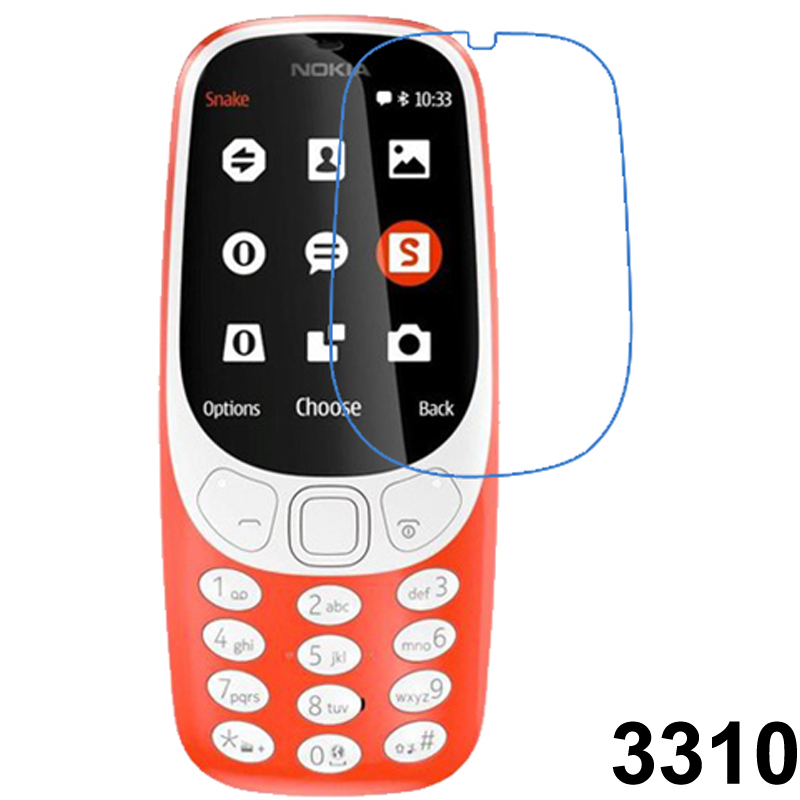 Nano Explosion-proof Soft Protector For Nokia 3310 N3310 Tempered Film  (NOT Glass)