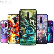 Pocket Monsters Silicone Case for Oneplus 7 7Pro 5T 6 6T Black Soft Case for Oneplus 7 7 Pro TPU Phone Cover