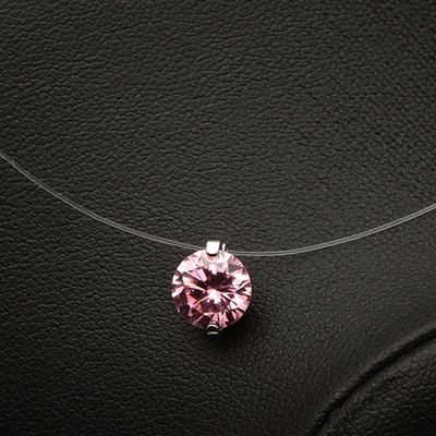 Invisible Line Necklace