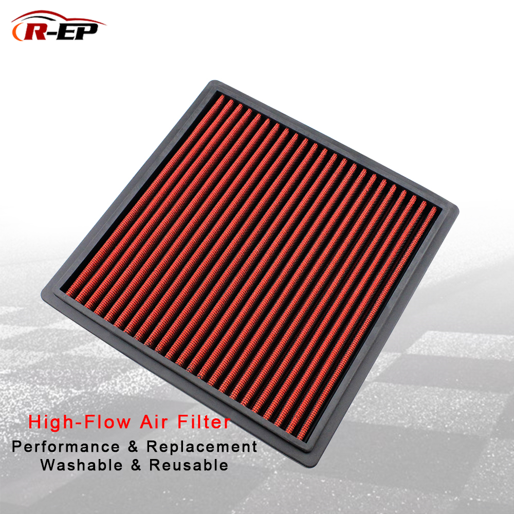 R EP Performance Replacement Panel Air Filter Fits for MITSUBISHI PAJERO GALLOPER MONTERO SPACE GEAR OEM MD620472 MR51147