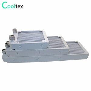 120/240/360mm refrigerador de refrigeração a água do radiador para o dissipador de calor industrial do permutador de calor do laser da cpu do computador
