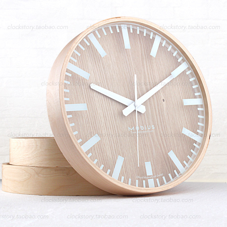 Ikea mute original wooden system wooden wall clock minimalist ikea mute original wooden system wooden wall clock minimalist small fresh wood clock creative living room nordic style in wall clocks from home amipublicfo Image collections