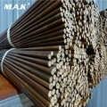 Haute qualité 10/20/40 pièces 84cm bambou flèche arbre avec OD 7.5mm 8mm 8.5mm bricolage bambou flèche tir à l'arc flèches pour la chasse