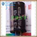 Nuevo condensador electrolítico 4700uf63v 63v4700uf Precisión: 20%