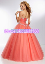Em Estoque Frisada Querida Fluindo Tulle Vestidos Quinceanera 2016 vestido de Baile Vestidos De 15 Años Barato Doce 16 Dresses 15(China (Mainland))