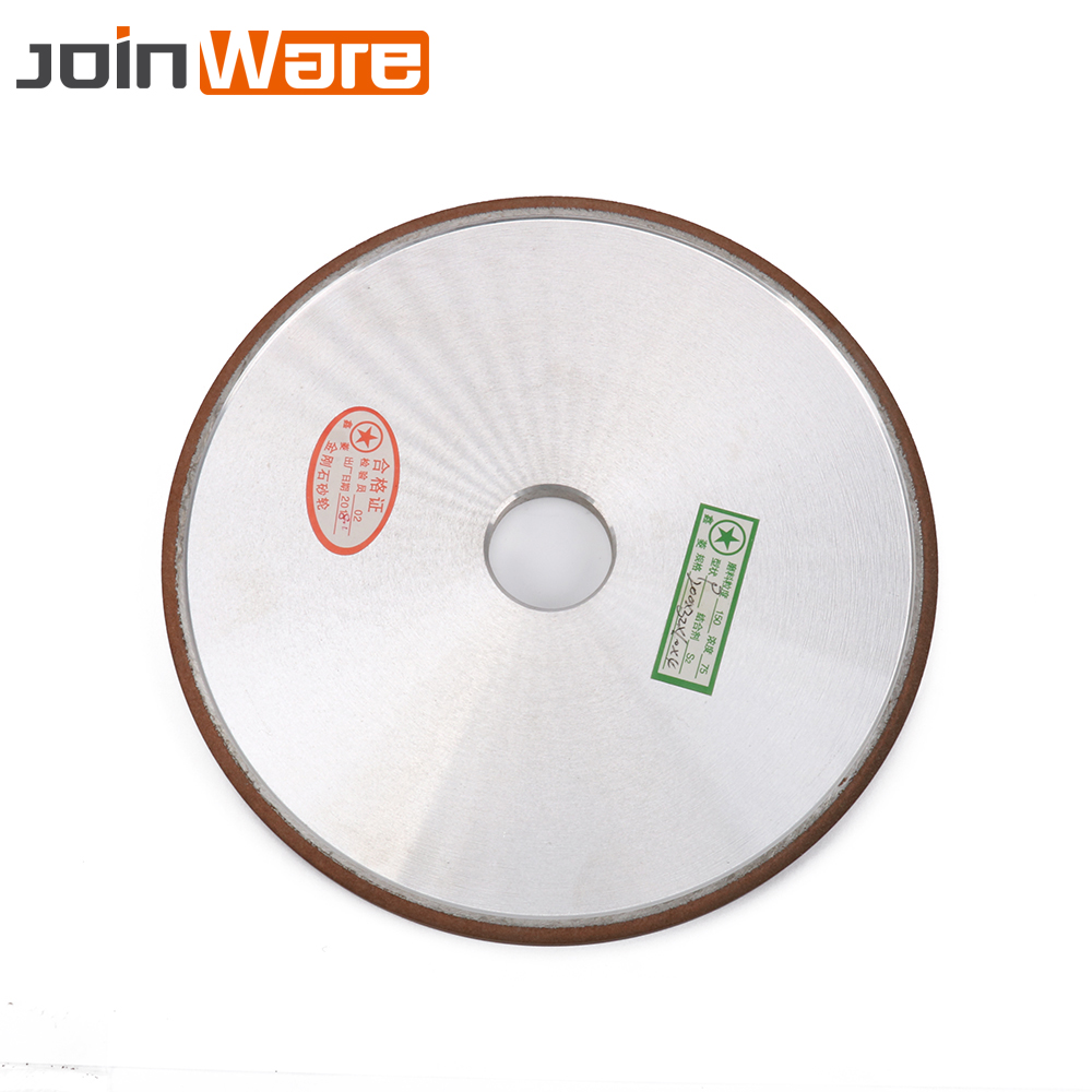 200MM Diamond Grinding Wheel Flat Carbide Hard Steel Grinder Wheel Power Tool For Carbide Abrasive Tools 120Grit 200*10*32*4MM high quality 200 10 32 4mm flat diamond abrasive resin wheel for alloy steel ceramic glass jade cbn grinding