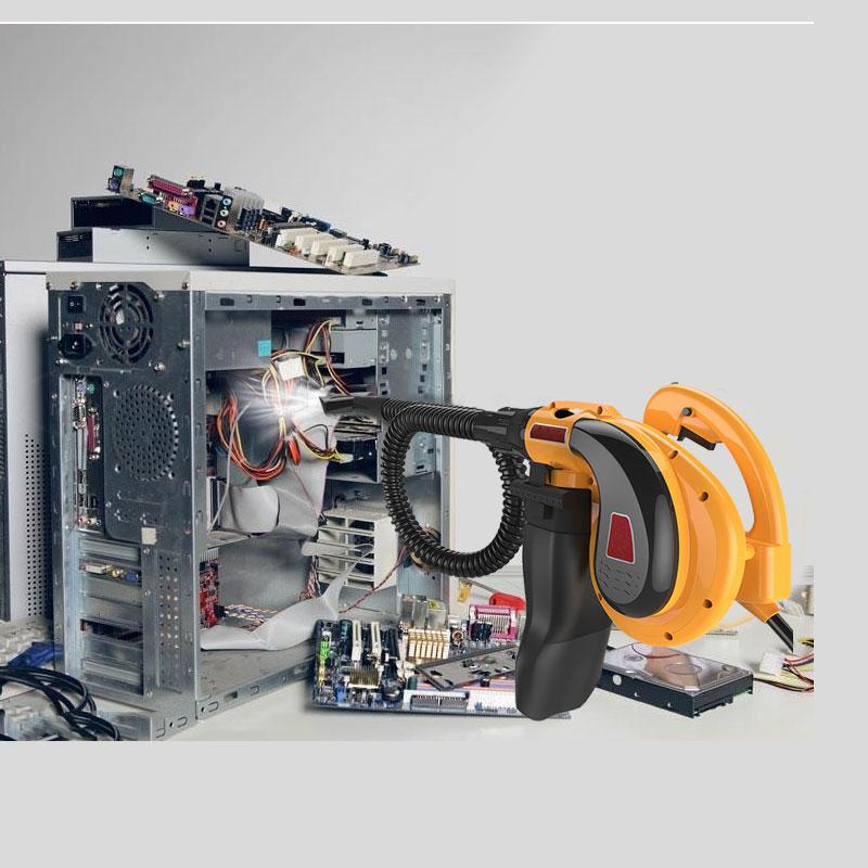 Le plus nouveau 1800 W 220 V forte puissance 2 en 1 soufflent et sucent le ventilateur de niveau industriel pour le nettoyage à la maison de ventilateur de voiture propre ordinateur propre-in Pinceaux de nettoyage from Maison & Animalerie    1