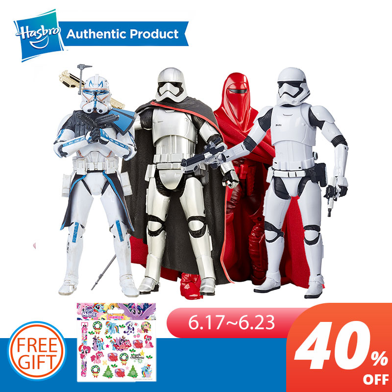 hasbro-star-wars-the-black-series-6-inch-first-order-stormtrooper-captain-phasma-royal-guard-rey-dj-canto-bight-font-b-starwars-b-font-toys