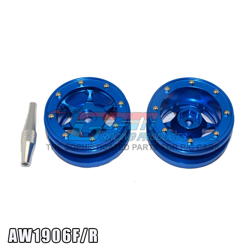 GPM TRAXXAS TRX4 Motorcycle Type Apply 1.9 Inch Full Aluminum Hub Yes Dress AW1906F/R metal